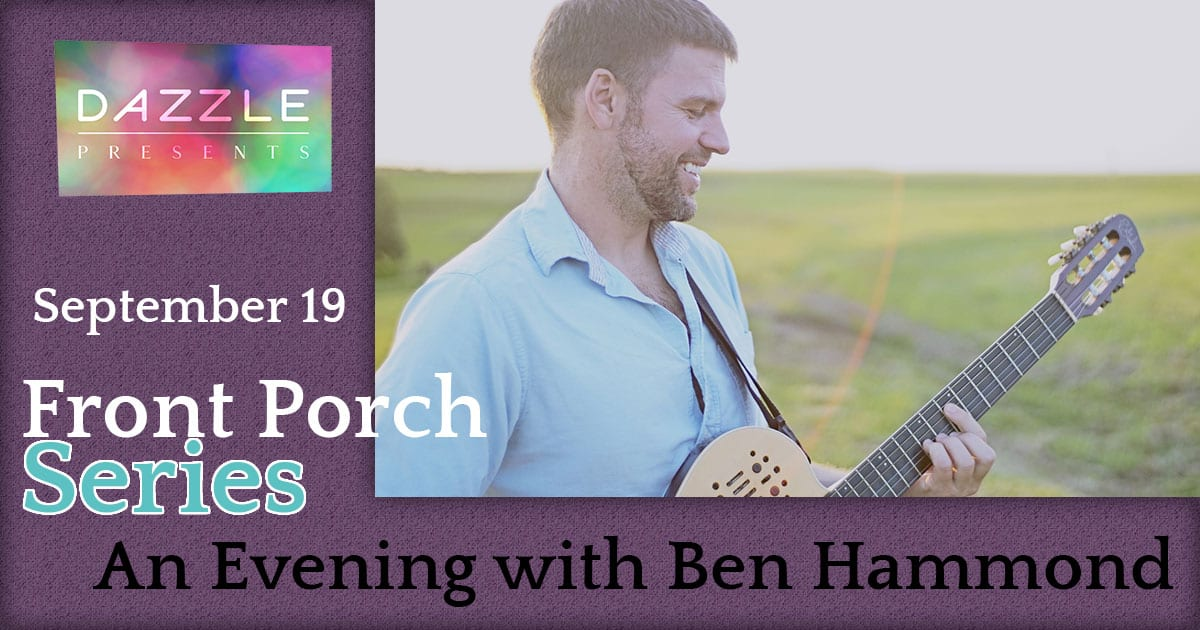 Front Porch Series: An evening with Ben Hammond