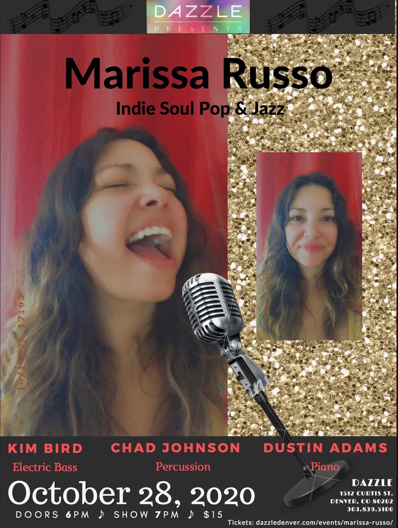 On Stage: Marissa Russo  (Indie Soul Pop)